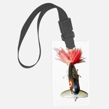 Muskie Lure Luggage Tag