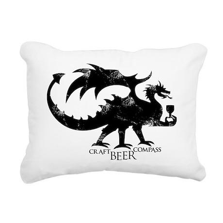 Dragon - Craft Beer Comp Rectangular Canvas Pillow