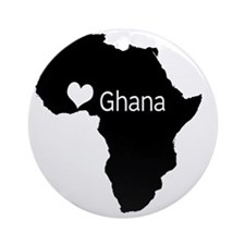 ghanacountry Round Ornament