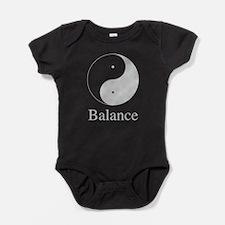 Balance Yin & Yang.png Baby Bodysuit