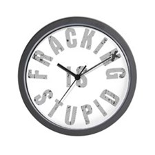 frac-stupid-DKT Wall Clock