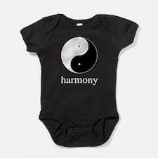 Harmony II Yin & Yang.png Baby Bodysuit