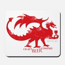 Dragon - Craft Beer Compass Mousepad