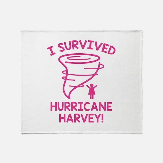 Hurricane Harvey Survivor Stadium Blanket