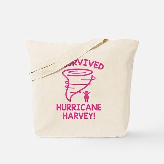 Hurricane Harvey Survivor Tote Bag