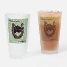 Cute Whinny More Buck Less Horse Drinking Glass