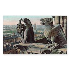 Gargoyles of Notre Dame Decal