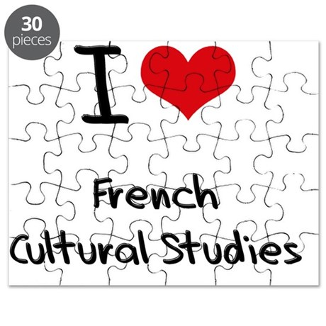I Love FRENCH CULTURAL STUDIES Puzzle