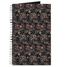 Blue Floral Tapestry Journal