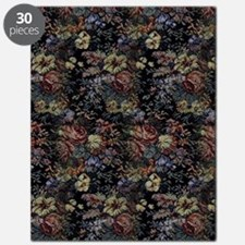 Blue Floral Tapestry Puzzle