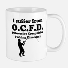 Obsessive Compulsive Fishing Disorder Mugs