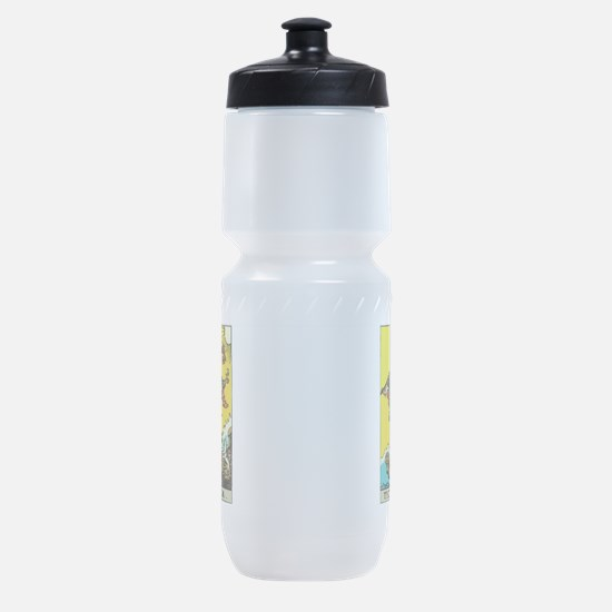 The Fool.png Sports Bottle