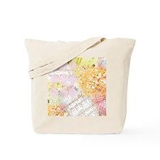 Chopin Florals Tote Bag