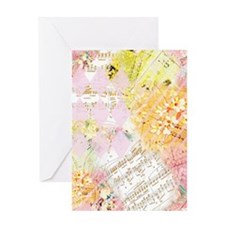 Chopin Florals Greeting Card