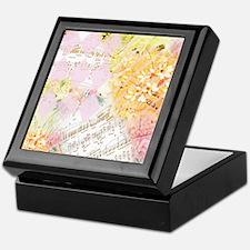 Chopin Florals Keepsake Box