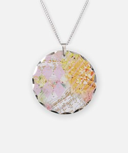 Chopin Florals Necklace