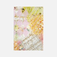 Chopin Florals Rectangle Magnet