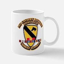 Army - 1st Cav Div w Afghan Svc Mug