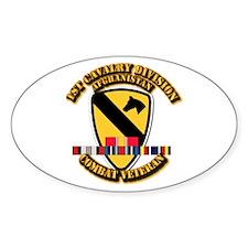 Army - 1st Cav Div w Afghan Svc Decal