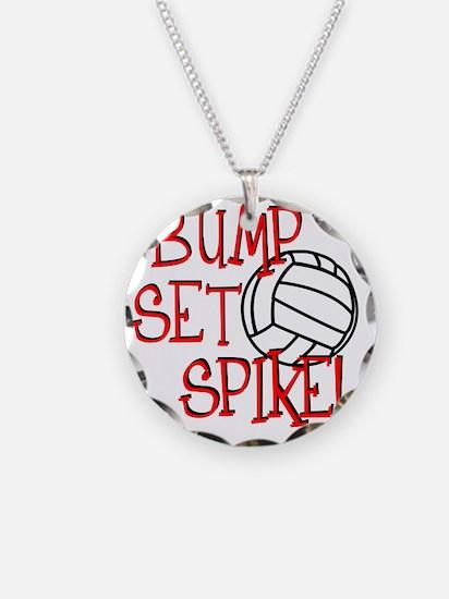 Bump, Set, Spike Necklace