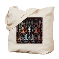 Rocket Science Damask Tote Bag