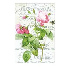 Vintage French Botanical  Postcards (Package of 8)