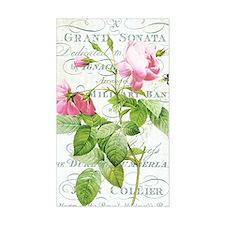 Vintage French Botanical pink  Decal