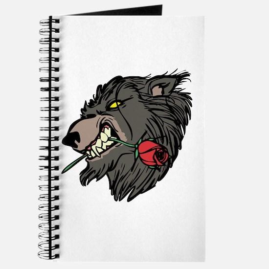 Werewolf with Rose Journal