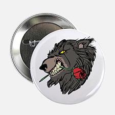 Werewolf with Rose Button