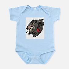 Werewolf with Rose Infant Bodysuit