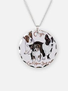 Cardigan corgi family Necklace