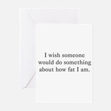 i wish someone would do somet Greeting Cards (Pack