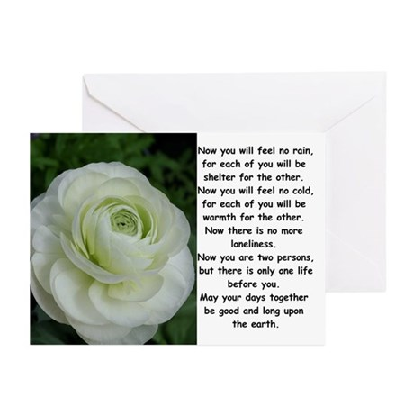 Apache Wedding Blessing Cards (Package of