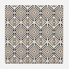 Ethnic Pattern Tile Coaster