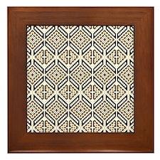 Ethnic Pattern Framed Tile