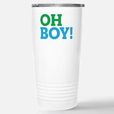 Oh Boy Type Stainless Steel Travel Mug