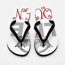 Long Live the QUEEN Flip Flops