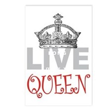 Long Live the QUEEN Postcards (Package of 8)