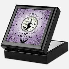 Modern Vintage Halloween Witching Hou Keepsake Box