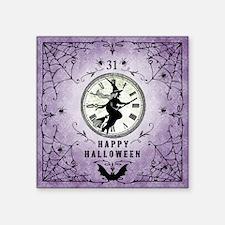 """Modern Vintage Halloween Wi Square Sticker 3"""" x 3"""""""