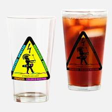 Electric Spartan Warrior Zombie Pri Drinking Glass