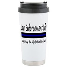 Law Enforcement Wife Travel Mug