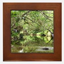 Turkey Creek Wildlife Framed Tile