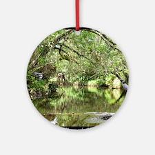 Turkey Creek Wildlife Round Ornament