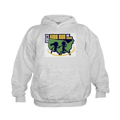 Kids Run The Nation 2014 Logo Hoodie