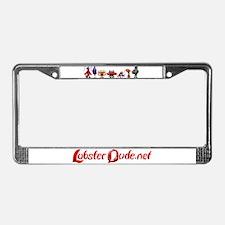 Lobster Dude gang License Plate Frame