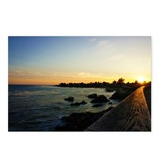 West Cliff Sun Set Postcards (Package of 8)