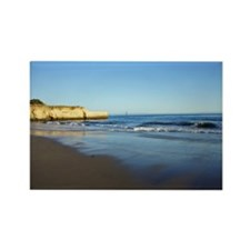 Twin Lakes Beaches Rectangle Magnet