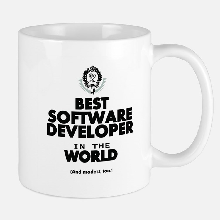 The Best in the World Software Developer Mugs