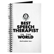 The Best in the World Speech Therapist Journal